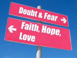 Fear vs Faith